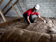 Loft Insulation can help minimise heat loss