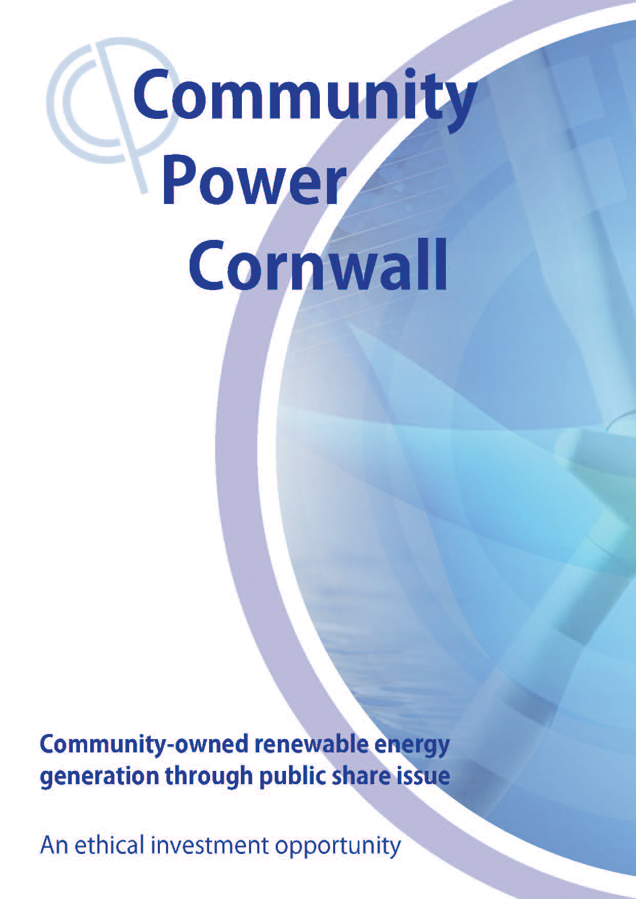 Community Power Cornwall share offer p.1