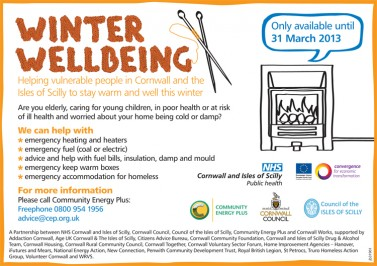 Winter Wellbeing Poster 2012