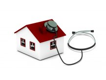 Image of house with stethoscope